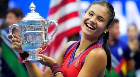 برطانیہ کی 18سالہ ایما راڈو کانو نے یو ایس اوپن جیت کر تاریخرقم کردی