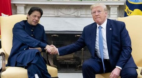 PM Khan discusses bilateral issues with President Trump