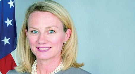 5-day visit: US diplomat Alice Wells to arrive in Pakistan today