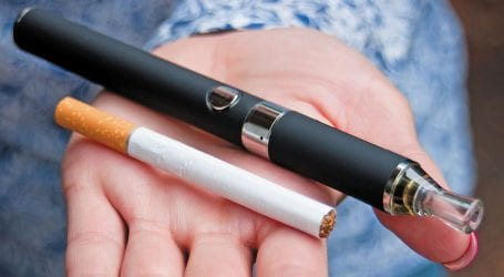 E-cigarettes may harm blood vessels