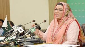 Firdous Awan urges nation to follow virus guidelines during Ramazan