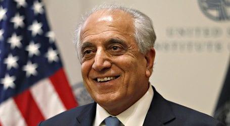 US envoy Zalmay Khalilzad to arrive in Pakistan today