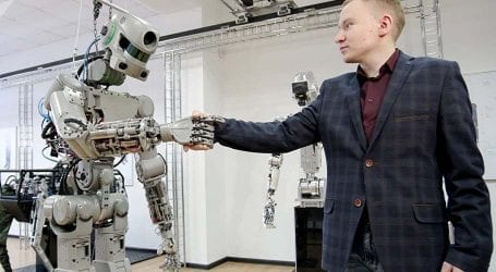 Russian humanoid robot 'Fedor' will travel to space