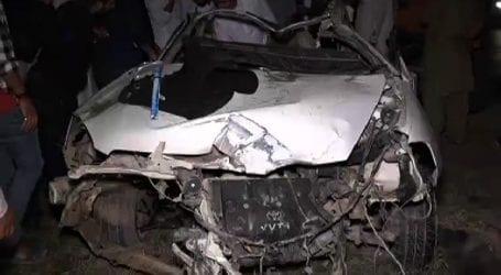 Three killed, nine injured in separate road mishaps