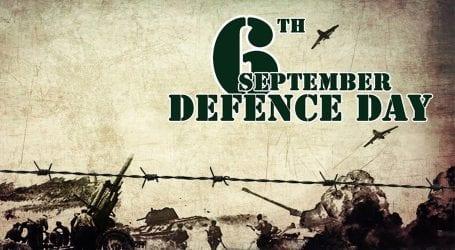 Defence day ceremony held at Karnal Sher Khan Shaheed Stadium Peshawar