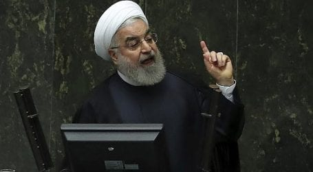 Rouhani slams US imposed sanctions in his UN address