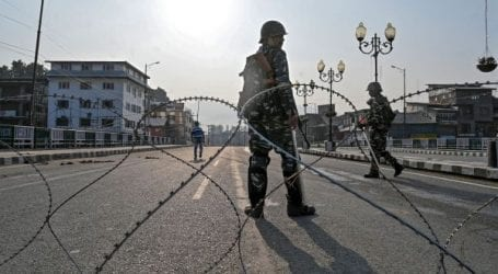 Curfew continues for 86th consecutive day in IOK