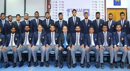 Sri Lanka cricket team departs for Pakistan tour