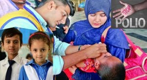 Refusal of polio vaccination cases come down in KPK