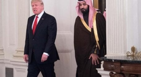 Trump condemns drone attacks on Aramco facilities in KSA