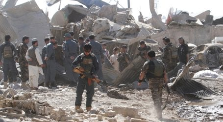 At least 16 dead as massive blast hits Kabul