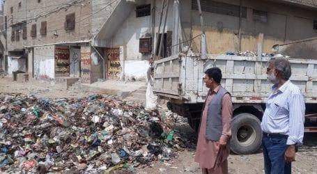 Sindh CM kicks off 'Clean My Karachi' drive