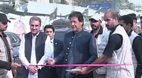 PM Khan inaugurates Torkham border crossing