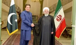 PM meets Iranian President in Tehran on one-day official visit