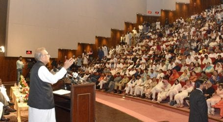 PM raised Kashmir issue at UN in best possible way: President Alvi