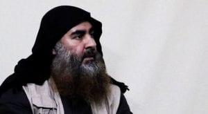 US military buried remains of Al-Baghdadi at sea