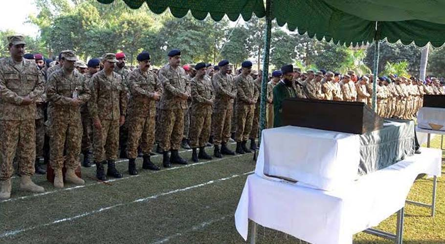 Soldier embraces martyrdom in LoC firing