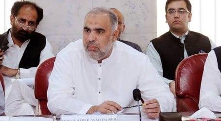 India's illegal siege in IoK poses risk: Asad Qaiser