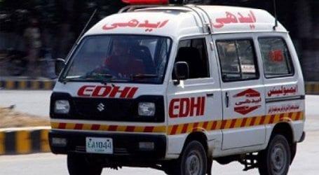 Road accident in Jamshoro kills three