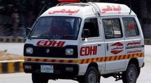 Road accident injures four in Lahore