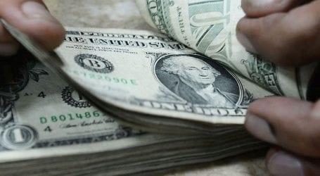 US dollar declines slightly against Pakistani rupee