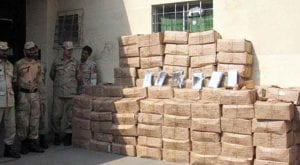 PCG seizes drugs around 2000kg near Balochistan