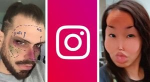 Instagram bans 'cosmetic surgery' filters over mental health concerns