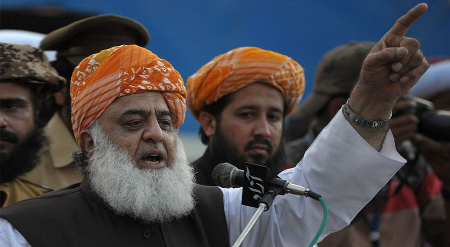 JUI-F to initiate Azadi March's plan-B from today