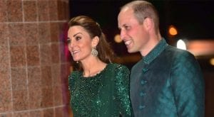 Celebs, guests meet the British royal couple