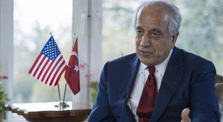 Zalmay Khalilzad praises Pakistan for supporting Afghan peace