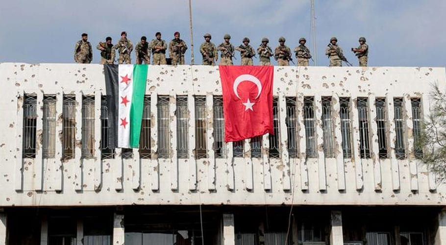 Syrian Kurds begin forces withdrawal from Turkey's border