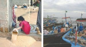 Cyclone Kyarr: Sea water creates hurdle for Karachi residents