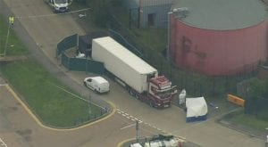 39 dead found in London container truck were Chinese, Police
