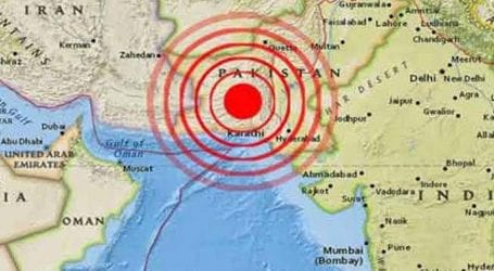 Earthquake of 5.4 magnitude jolts northern Pakistan