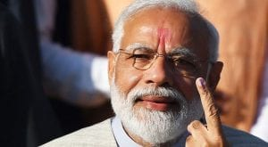 Violent protests could boost Modi's election test in New Delhi, report