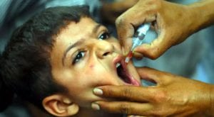 Anti-polio campaign to begin nation wide from Nov 2
