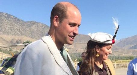 British royal couple visits Chitral, wear traditional headgear