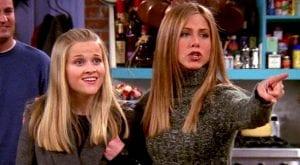 Jennifer Aniston recreates 'Friends' scene with co-star