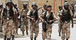 Rangers arrests 21 criminals in Karachi