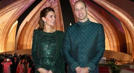 'Thank you Pakistan' says Kensington Palace after Royal visit