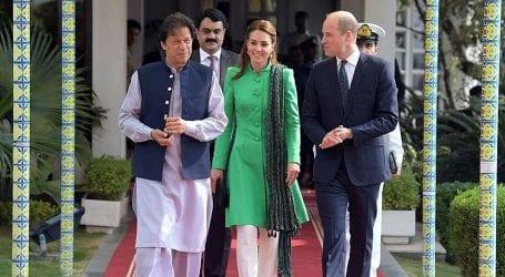 British royal couple meets PM Khan, President Alvi