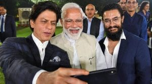 Internet slammed SRK, Aamir for appreciating Modi's initiative