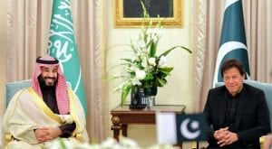 Saudi leadership applauds PM's efforts to promote peace and stability