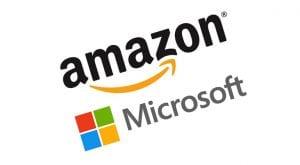 microsoft beats amazon