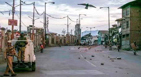 Curfew, communication blockade enters 197th day in IoK