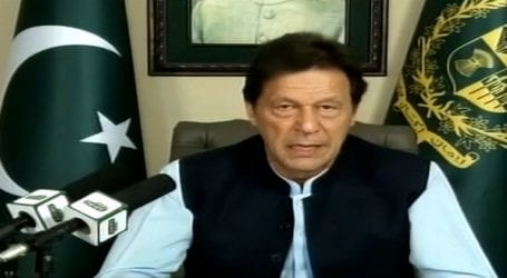 Entire Pakistani nation stands behind Kashmir: PM