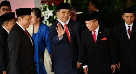 Indonesian President Jokowi kicks off new term