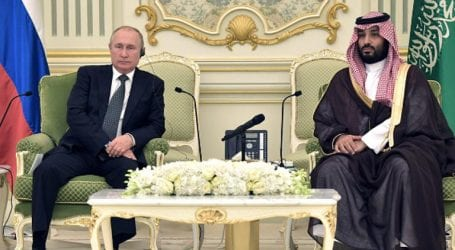 Putin visits Saudi Arabia for first time in over a decade