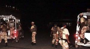 Rangers arrest 21 suspects during raids in Karachi