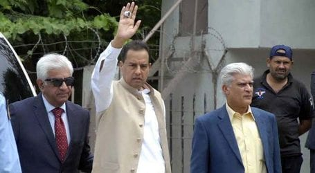 Scuffling Case: Captain Safdar presented in Lahore's court